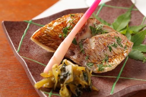 天然桜鯛 西京焼